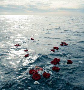 Esparcir cenizar mar ecofunerales