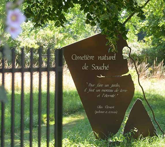 Cementerio Niort - cementerio Verde