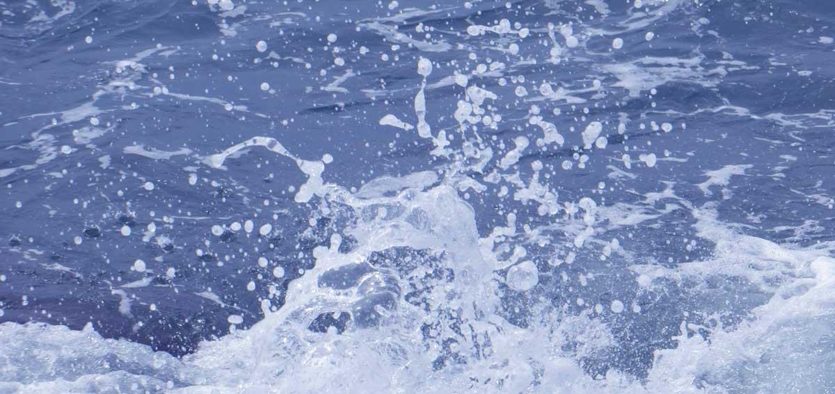cenizas en el mar
