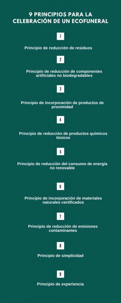 Principios para celebrar un ecofuneral
